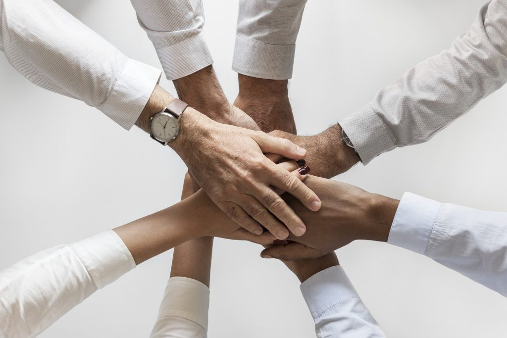 image of staff teamwork